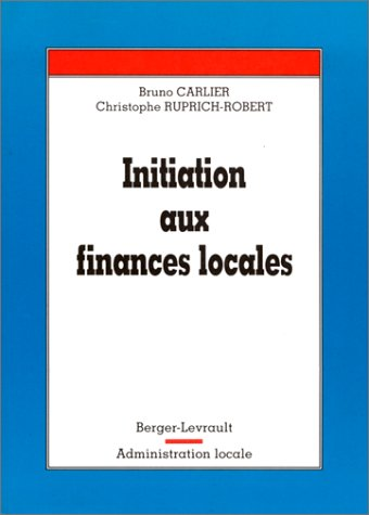 9782701311999: Initiation aux finances locales