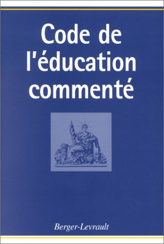 9782701313665: Code de l'éducation commenté