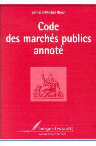 9782701313979: Code des marchés publics annoté