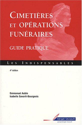 9782701315751: Cimetières et opérations funéraires : Guide pratique
