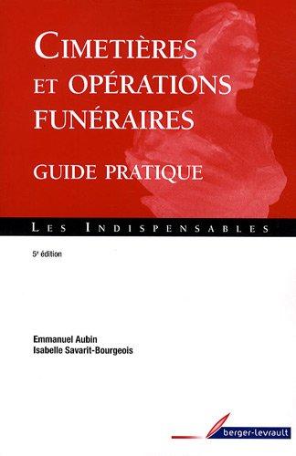 9782701316505: Cimetières et opérations funéraires (French Edition)