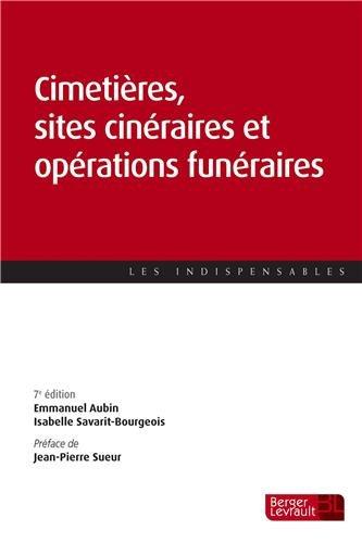 9782701318110: Cimetières, sites cinéraires et opérations funéraires