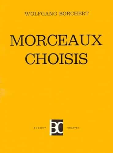 9782702014158: Morceaux choisis