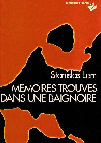 9782702100356: Memoires trouves dans une baignoire (Dimensions) (French Edition)