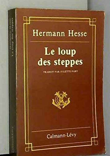 9782702100448: Loup des steppes-le- -anc edit-