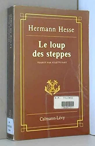 9782702100448: Le loup des steppes