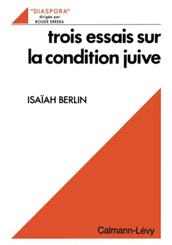 9782702105351: Trois essais sur la condition juive