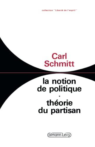 9782702109427: LA NOTION DE POLITIQUE