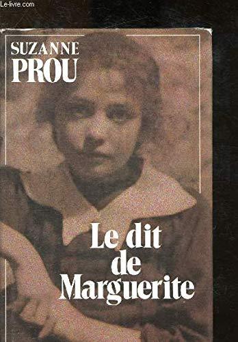 9782702114278: Le dit de Marguerite: Recit (French Edition)