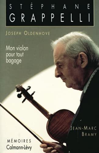 9782702118559: Mon violon pour tout bagage : Mémoires