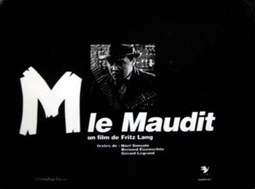M Le Maudit: Simsolo, Noel;Eisenschitz, Bernard;Legrand, Gerard