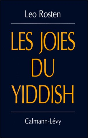 9782702122624: Les joies du yiddish
