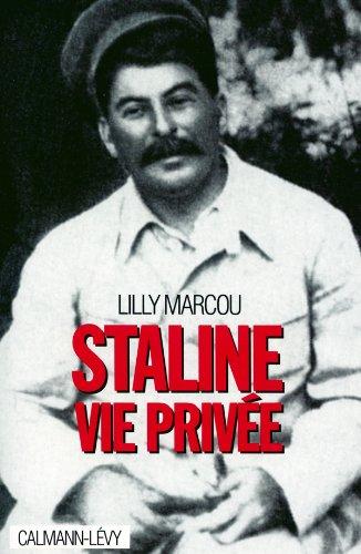 9782702125892: Staline, vie privée (French Edition)