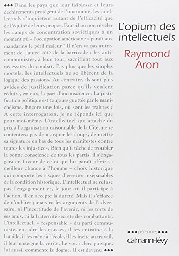 9782702134740: L'opium des intellectuels (French Edition)