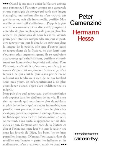 9782702135044: Peter Camenzind (French Edition)