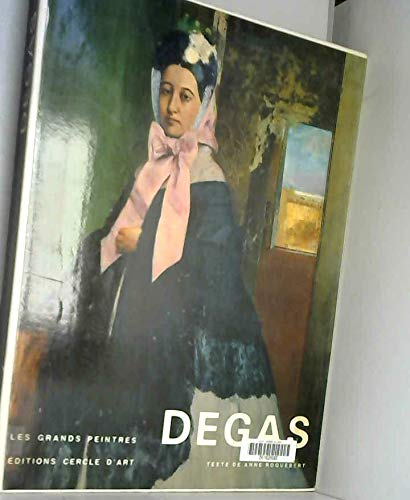 9782702202128: EDGAR DEGAS (Grands peintres et sculpteurs)