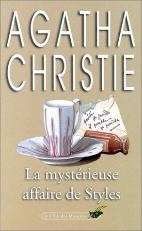 9782702400753: La Mysterieuse Affaire De Styles (French Edition)