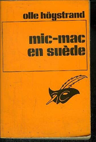9782702404416: Mic-mac en Suède (Collection Le Masque)