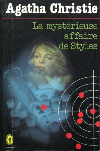 9782702406632: La mystérieuse affaire de styles