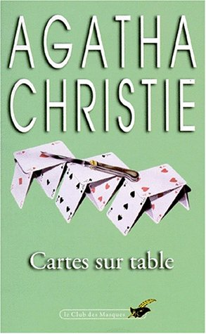 9782702408643: Cartes Sur Table (Club des Masques) (French Edition)