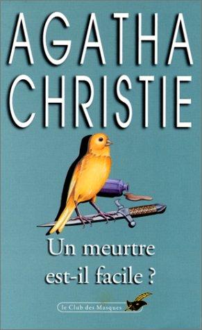 UN MEURTRE EST-IL FACILE? French Language Edition.: Christie, Agatha.