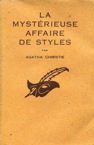 9782702418550: La mystérieuse affaire de styles