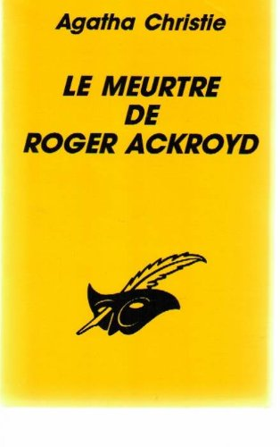 9782702418802: LE MEURTRE DE ROGER ACKROYD