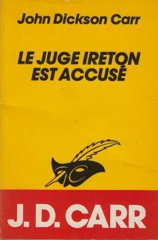 9782702420720: Le juge Ireton est accusé