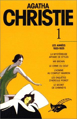9782702420867: Agatha Christie, tome 1 : Les Années 1920-1925
