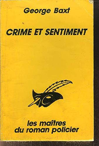 9782702422328: Crime et sentiment