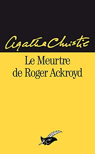 Le meurtre de Roger Ackroyd - (LI): Christie, Agatha