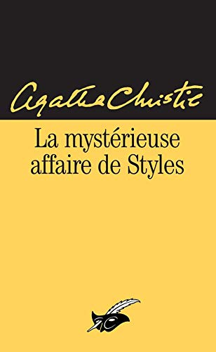 9782702423202: La Mystérieuse affaire de styles