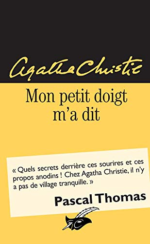 9782702429686: Mon petit doigt m'a dit (Le Masque)