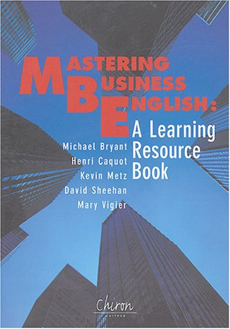 9782702709962: Mastering Business English : A Learning Resource Book (1CD audio)