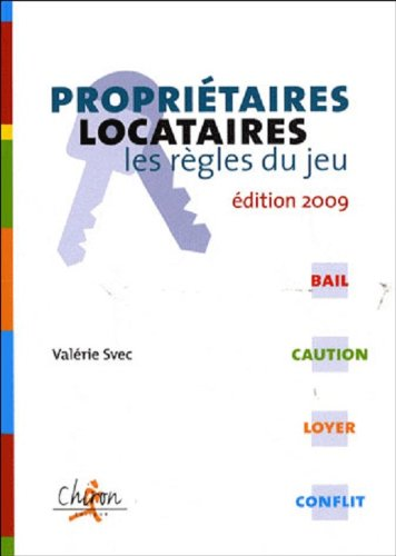 9782702712504: Proprietaires/locataires (French Edition)