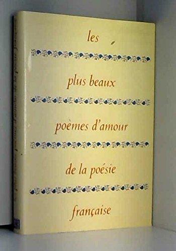 9782702800324 Les Plus Beaux Poemes Damour De La Poesie