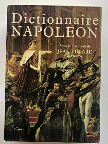 9782702827574: Dictionnaire Napol�on