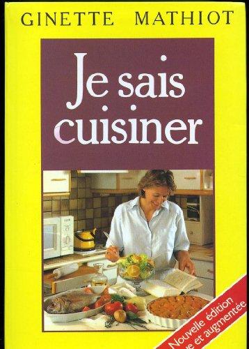 9782702831892: Je sais cuisiner