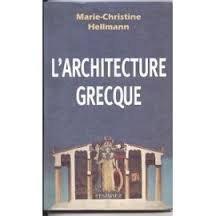 9782702833124: L'architecture grecque
