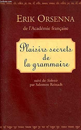 9782702847404: Plaisirs Secrets de la Grammaire