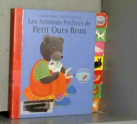 9782702859018: Les animaux pr�f�r�s de Petit Ours brun