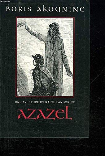 9782702863749: Azazel (Une aventure d'Eraste Fandorine.)