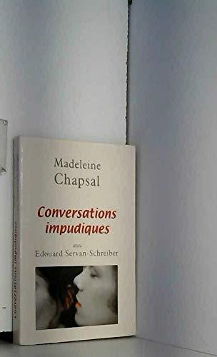 9782702874448: Conversations impudiques : Avec �douard Servan-Schreiber