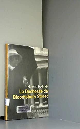 9782702878224: La duchesse de Bloomsbury street