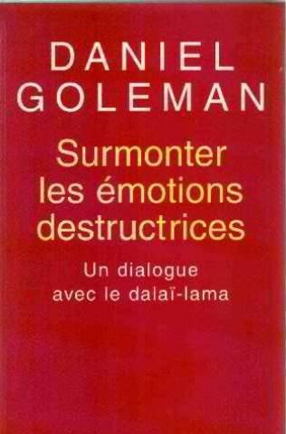 9782702888155: Surmonter les émotions destructrices: Un dialogue avec le dalaï-lama