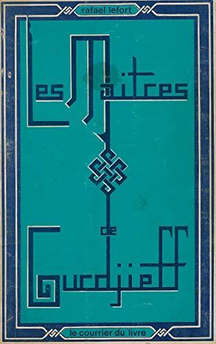 9782702900536: Les maitres de gurdjieff