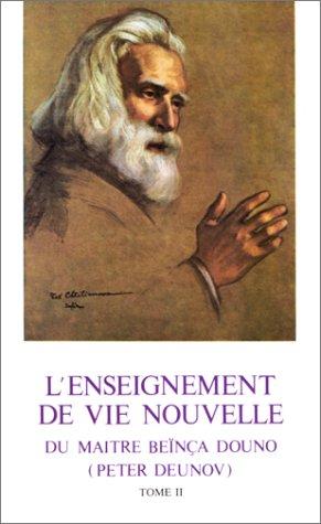 9782702902608: L'enseignement de vie nouvelle du maître Beïnça Douno (Peter Deunov), tome 2