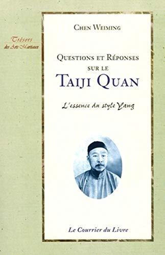 9782702905258: questions et reponses sur le taiji quan