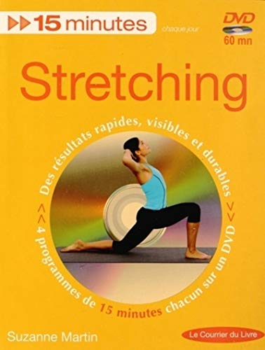 15 MINUTES STRETCHING + DVD - NED 2014: MARTIN SUZANNE