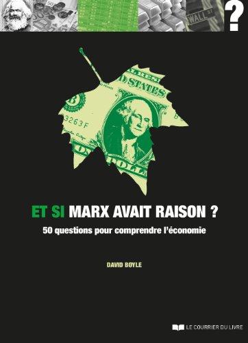 9782702910788: Et si Marx avait raison ?